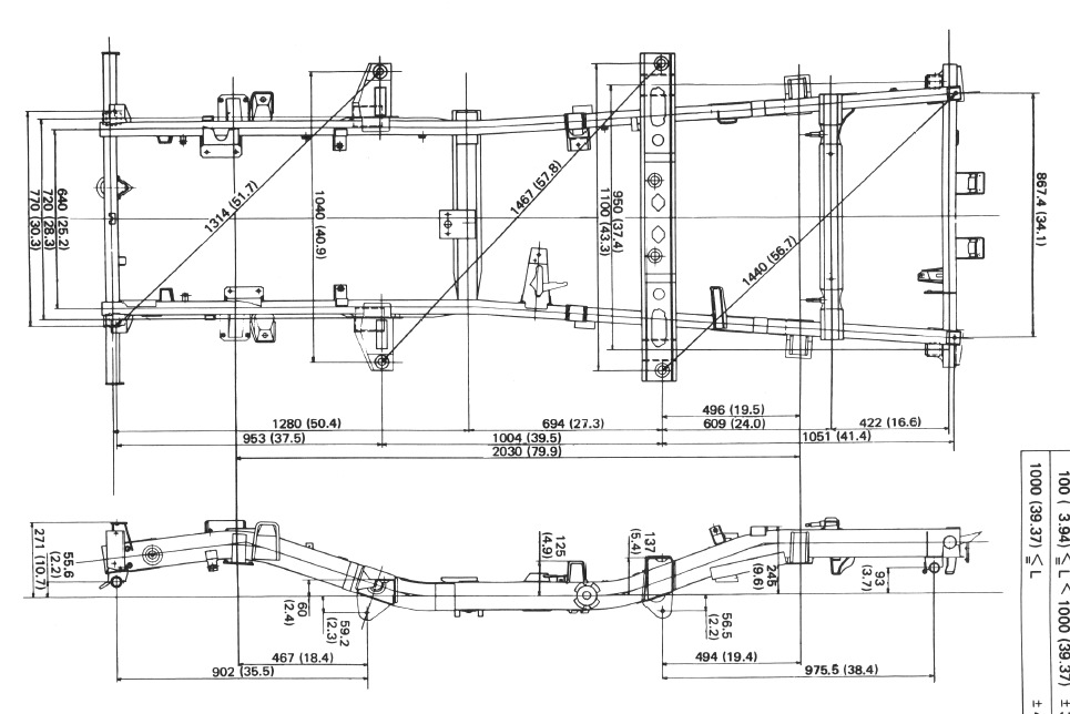 Suzuki_SJ410_Chassis_Dimensions technical library zuki offroad suzuki samurai wiring diagrams asfachs at nearapp.co