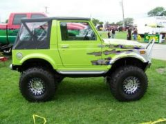 Dale Skinner's 1987 Suzuki Samurai