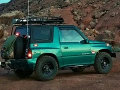 The Teal Terror – 1995 Suzuki Sidekick