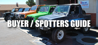 Suzuki Samurai and Sidekick Spotters Guide