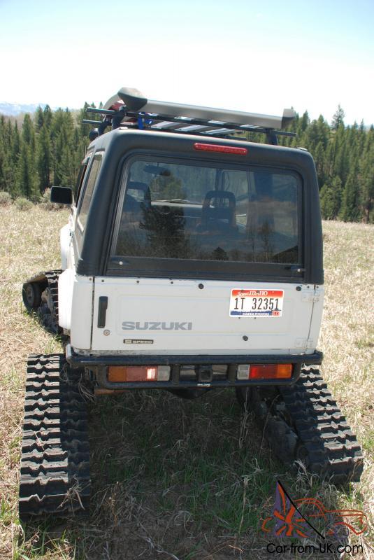 Suzuki Samurai Tracks
