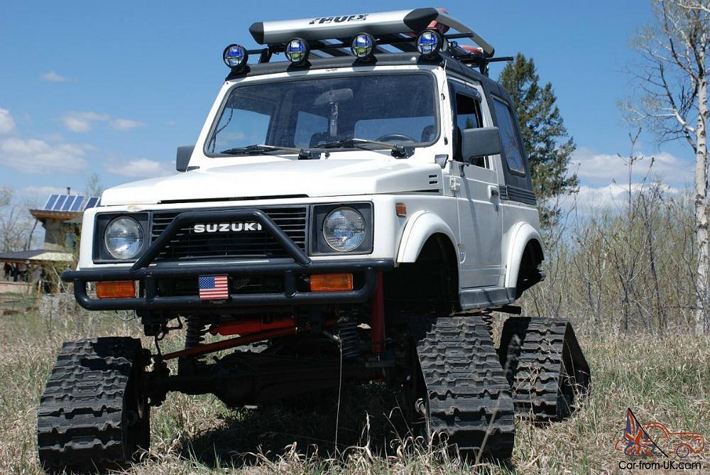 1987 Suzuki Samurai On Tracks Zuki Offroad