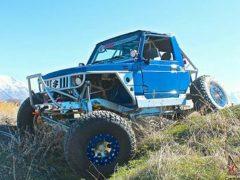 1987 Suzuki Samurai Blue Trail Slayer